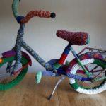 Fahrrad aus Wolle