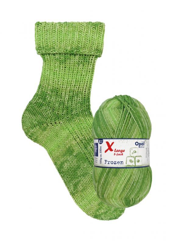 Opal X-Large 8 Fach Frozen Sockenwolle 9732