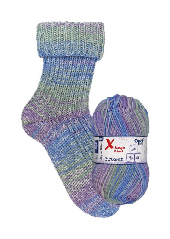 Opal X-Large 8 Fach Frozen Sockenwolle 9735