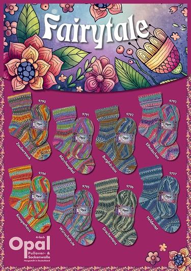 Opal Fairytale 4 Fach Sockenwolle